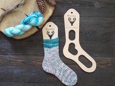 Wooden sock blockers / Deer