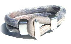 Snake Bite beige-blauw