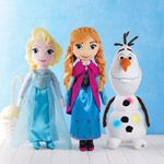 Each cuddle pillow is 24.99.  Singing Elsa or Anna and Olaf lights up.  Awesome gift in time for Waster they will go fast!  Coming out in Campaign 7