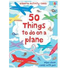 50 Things to Do on a Plane - making travel with little ones more enjoyable!