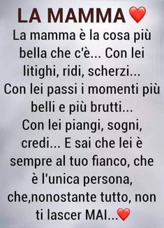 Mamma Rosa, Italian Love Quotes, Italian Phrases, Sayings And Phrases, For You Song, Mom Son, Learning Italian, Zodiac Quotes, Morning Quotes