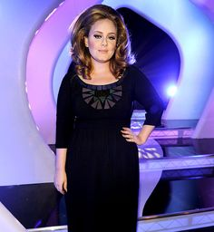 """Adele """"I don't want to be some skinny mini with my ...."""