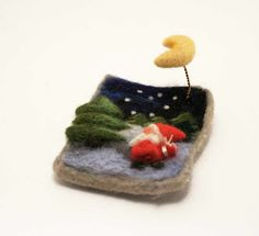 Hey, I found this really awesome Etsy listing at https://www.etsy.com/listing/113373910/felted-brooch-silent-christmas-night