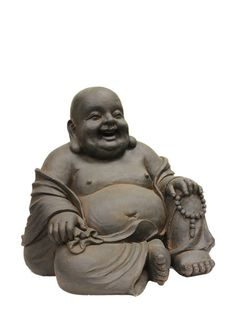Laughing Buddha Garden Statue