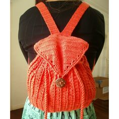 colored crochet backpack | Home > Personal Accesories > Bags & Belts > Crochet Backpack - colors