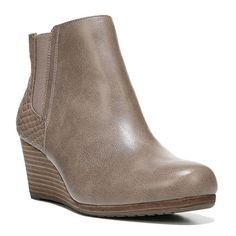 Dr. Scholl's Dillion Women's Wedge Ankle Boots, Size: medium (7.5), Brown