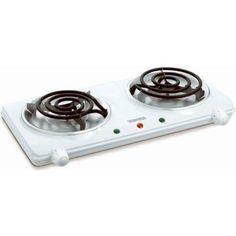Toastess THP433 Electric DoubleCoil Cooking Range White * AMAZON Great Sale
