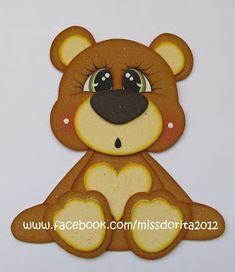 Tatty Teddy, Teddy Bear, Handbag Patterns, Insulated Lunch Bags, Felt Dolls, Paper Piecing, Tigger, Wood Projects, Birthdays