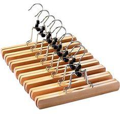 Wood Coat Hanger, Wooden Pant Hangers, Skirt Hangers, Clothes Hanger, Best Hangers, Space Saving Hangers, Hanger Clips, Velvet Hangers, Bar Set