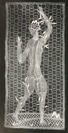 Dagobert Peche. Lace design, c1921 (The Textile Blog)