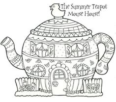 New Mouse House: Summer Teapot!