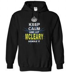 cool MCLEARY tshirt, hoodie. Its a MCLEARY Thing You Wouldnt understand