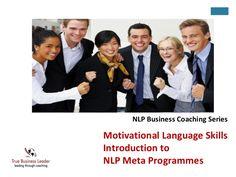 Motivational Language Patterns/An Introduction to Meta Programs