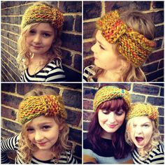 A Stash Addict: Free,Easy Knitted Headband Pattern. These are SUPER easy to make and are absolutely adorable!! LOVE IT! Since I don't have bulky yarn I have been using regular worsted weight and size 11 needles. (CO 52 stitches and then knit about 15 rows or so)