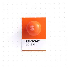 Pantone 2018 color match. Orange Skittle. To celebrate 5K followers on Instagram. Also, it's my kids' bribe candy of choice at the moment :-)