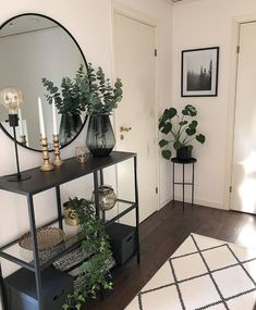 38 ideas home living room design plants for 2019 Room Interior, Home Interior Design, Modern Interior, Flat Interior, Interior Paint, Home Living Room, Living Room Designs, Living Room Decor Grey Sofa, Flur Design