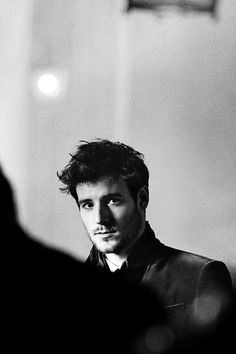 British musician Roo Panes behind the scenes of the Burberry Autumn/Winter 2012 campaign