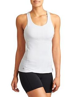 PR Tank 2 - Set a new personal record in sleek, wicking Velocilite performance fabric with built-in support, mesh ventilation and stretch-to-fit back pockets.