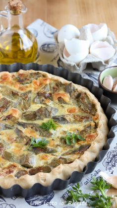 Easter Recipes, Easter Food, Best Italian Recipes, Recipe Boards, Quiche, Finger Foods, Hamburger, Muffins, Food And Drink