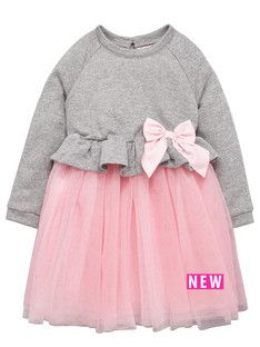 ladybird-girls-sweater-and-pink-tutu-dress-with-large-bow-12-months-7-years