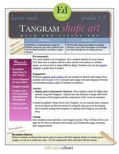 tangram shape art