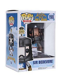 "<p>Sir Bedevere is given a fun, and funky, stylized look as an adorable collectible vinyl figure!</p>  <ul> <li>3 3/4"" tall</li> <li>Imported</li> <li>By Funko</li> </ul>"