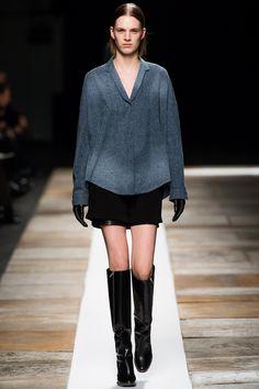 Theyskens' Theory Fall 2013 Ready-to-Wear Fashion Show - Ashleigh Good