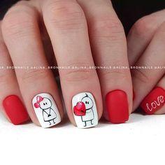 Valentine's Day Nail Designs, Classy Nail Designs, Classy Nails, Fancy Nails, Gorgeous Nails, Pretty Nails, Wedding Nails Design, Pink Acrylic Nails, Holiday Nail Art