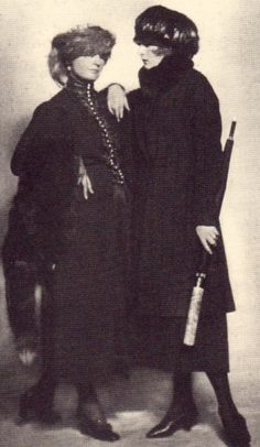Anita Berber and her lover manager, Susi Wanowski
