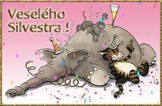 Gify Nena - Nový rok 1 Merry Christmas, Merry Little Christmas, Wish You Merry Christmas