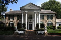 Graceland- Memphis, USA Built on a 13.8 acre estate, the Graceland mansion was the home of Elvis Presley from 1957, until his death at the home, in 1977. He lived there with his father and mother, and...