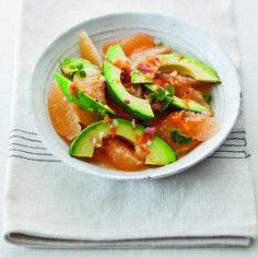 This pretty salad from Alice Waters, the iconic chef-owner of Chez Panisse in Berkeley, California, is best in the winter, when grapefruit is at its prime....