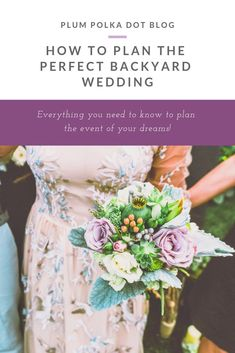 Start planning the backyard wedding of your dreams! // Plump Polka Dot -- wedding planning How to Plan the Perfect Backyard Wedding Wedding Advice, On Your Wedding Day, Perfect Wedding, Dream Wedding, Wedding Events, Wedding Favors, Party Favors, Diy Wedding, Wedding Reception