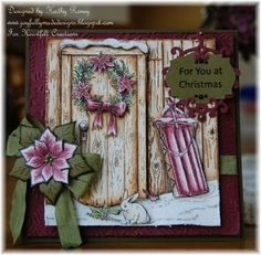 Heartfelt Creations | Festive Yuletide Doorway