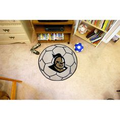Central Florida Knights Soccer Ball Round Floor Mat (29)