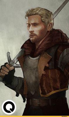 Каллен,DA персонажи,Dragon Age,фэндомы,DAI,crossover,The Witcher,Ведьмак, Witcher, ,qissus
