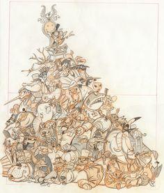 Ben Balistreri: Pile of animals