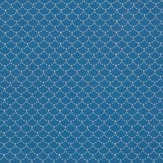 Tissu coton Ecailles Bleu - Mondial Tissus