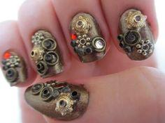 Steampunk Nail