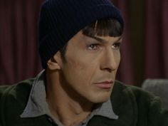 Spock in a beanie is probably one of the most exciting moments for me.