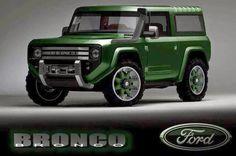 2016 Ford Bronco convept