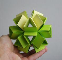 Green Kusudama