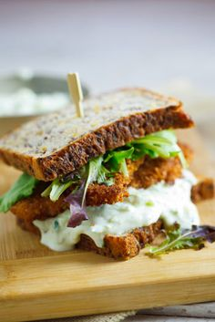 Crusted chicken sandwich. Get unique marketing ideas & expert help to increase your business in Social Media Platform, visit....... www.pinific.com