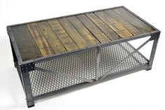 Industrial Truss Coffee Table from Taylored Ironworks