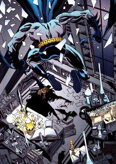 comicbookvault: Batman & Scarecrow by Tim Sale