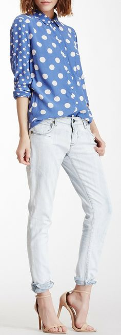 Love this outfit ~ Mojave Skinny Jean