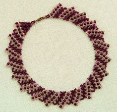Free pattern for beaded necklace Helga | Beads Magic