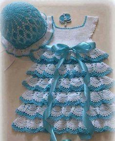 Baby Archives - Beautiful Crochet Patterns And Knitting Patterns - Diy Crafts - knittingo Crochet Toddler, Baby Girl Crochet, Crochet Baby Clothes, Crochet For Kids, Knitted Baby, Crochet Baby Dress Pattern, Baby Dress Patterns, Baby Knitting Patterns, Crochet Patterns