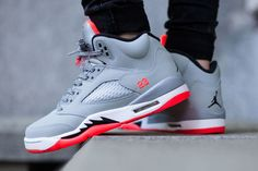 "Air Jordan 5 Retro GS ""Hot Lava"""