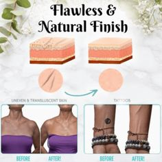 Flawless Body Concealer – Geniwo Perfect Legs, Im Not Perfect, B720, Beauty Tips, Beauty Hacks, Body Foundation, Even Skin Tone, Summer Body, Cellulite